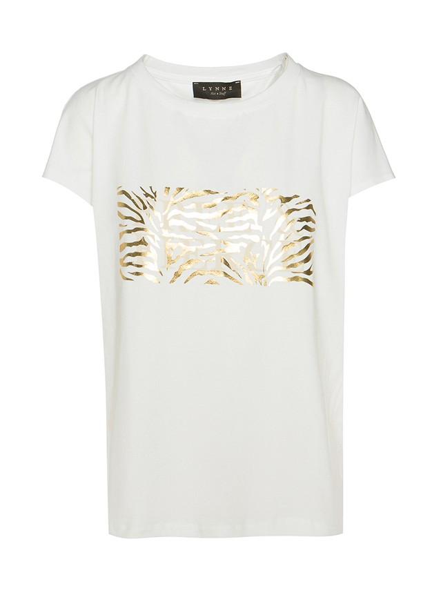 """Тениска с щампа """" Free & Fierce"""""""