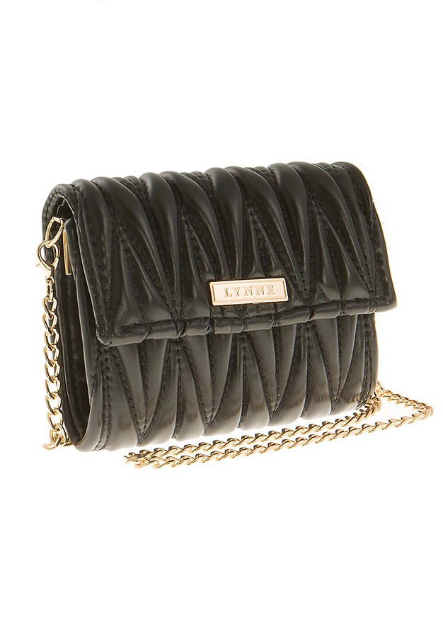 Wallet with shoulder chain
