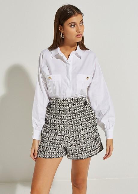 Риза с джобове