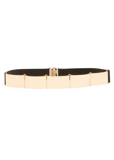 Belt with gold details