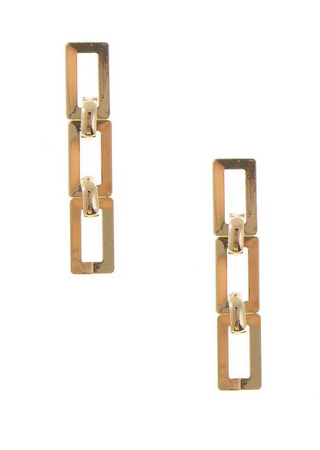 Κρεμαστά σκουλαρίκια με σχέδιο αλυσίδα