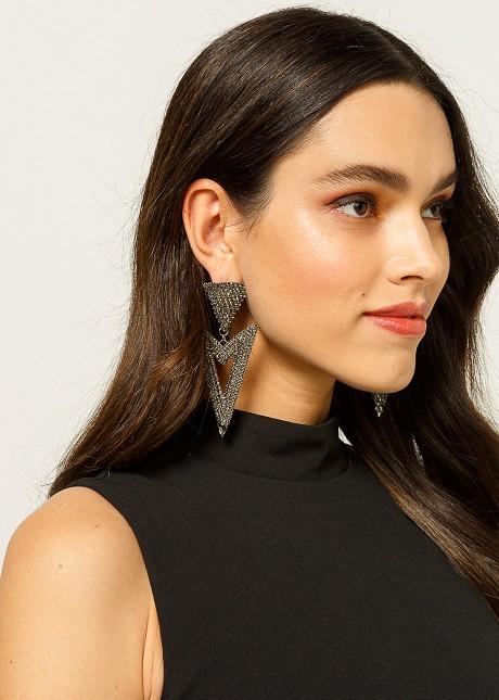 Geomatric shapes earrings