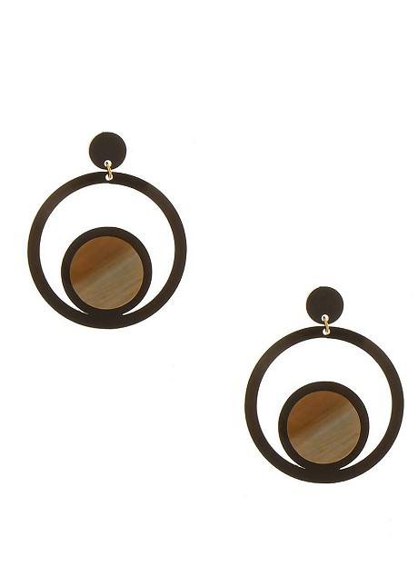 Σκουλαρίκια με κύκλο