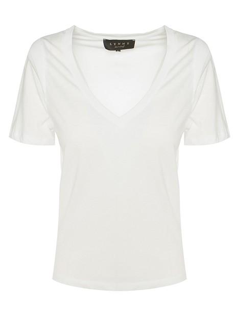 Blouse with V-neckline