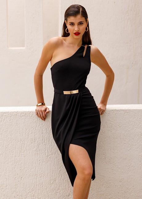 Κρουαζέ φόρεμα με έναν ώμο