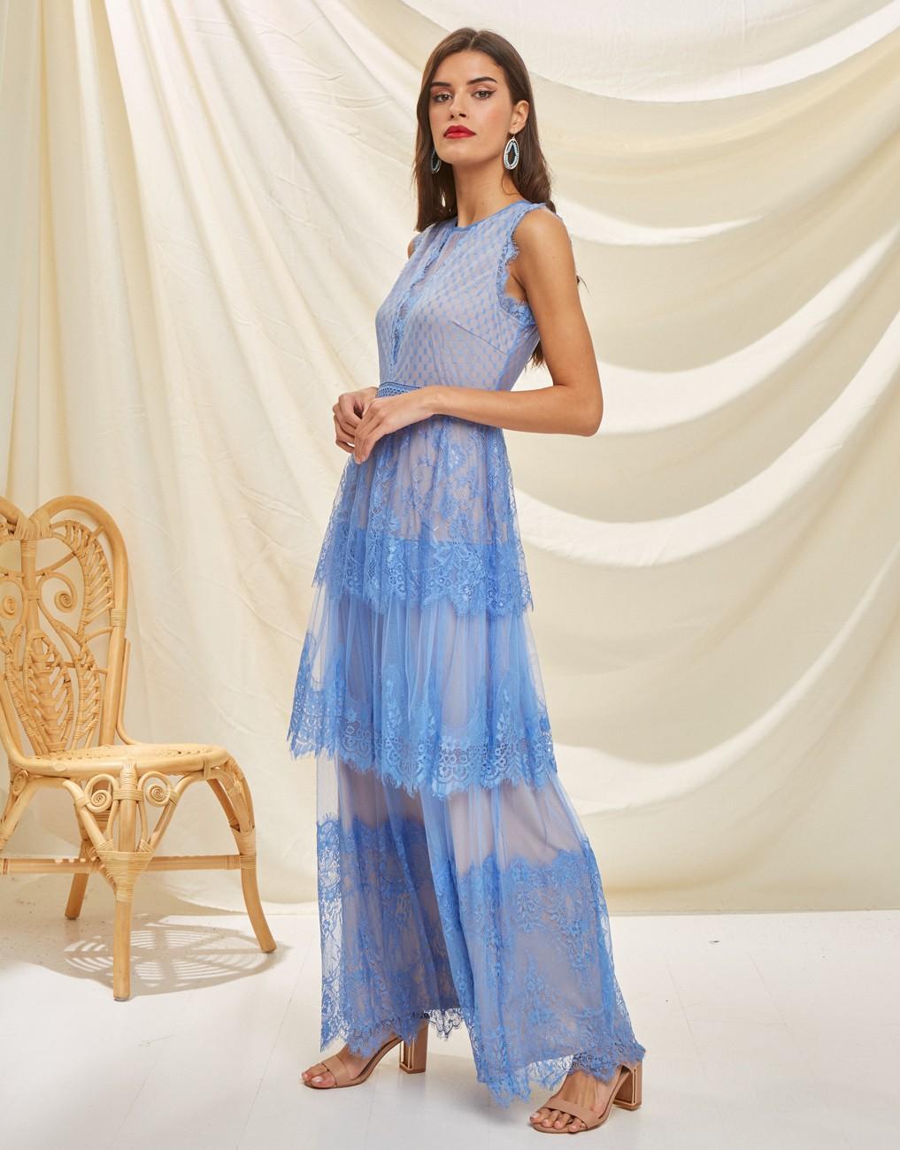 Maxi full lace dress