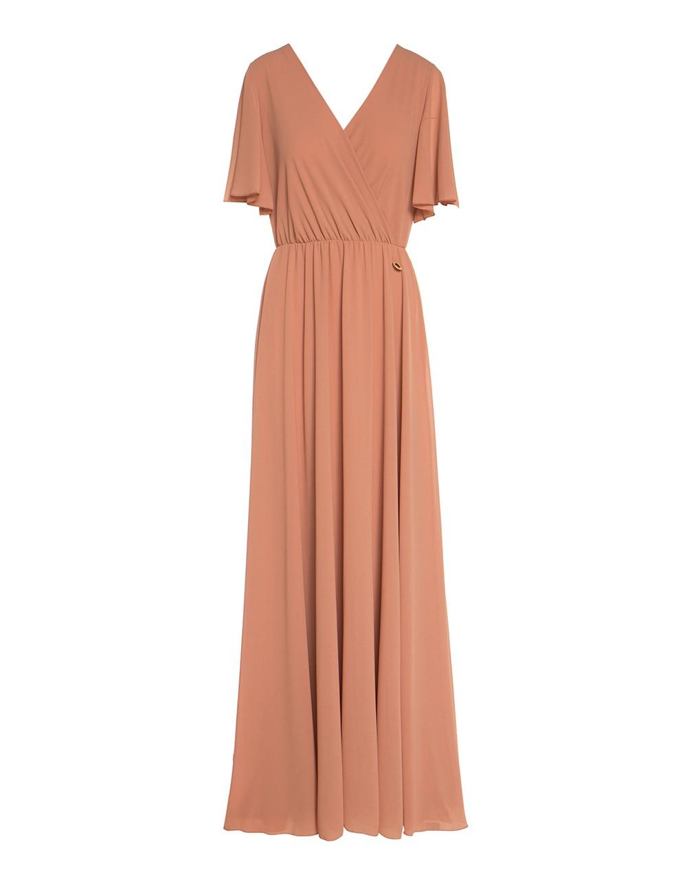 Μάξι κρουαζέ φόρεμα