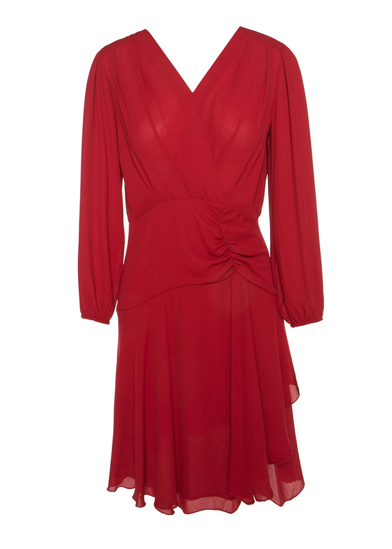 Asymetric mini dress