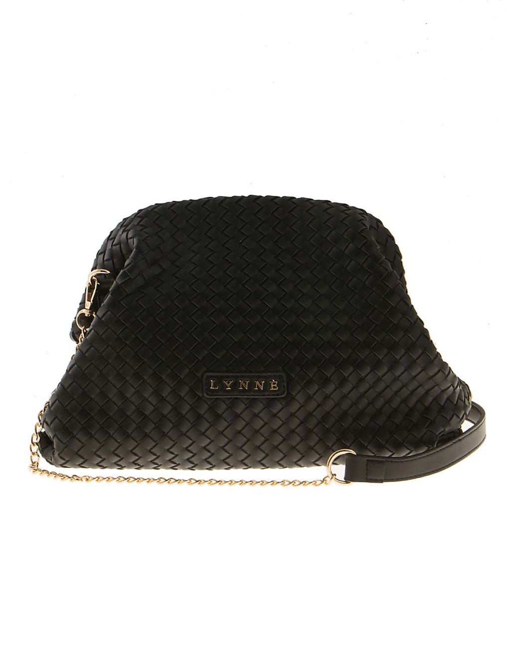 Bag with woven look