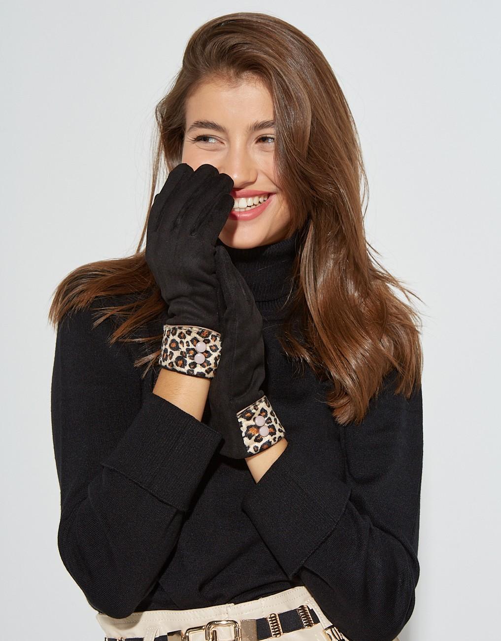 Αnimal print gloves