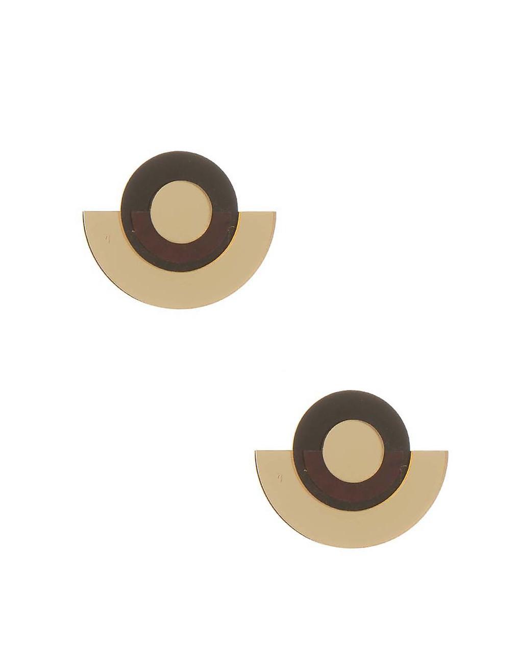 Обеци с геометрична форма