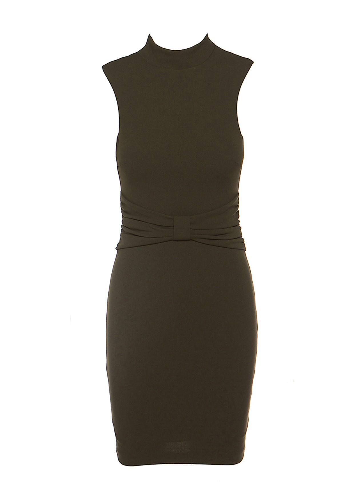 Φόρεμα με σχέδιο στη μέση